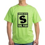 Content Rated S: SNL Fan Green T-Shirt