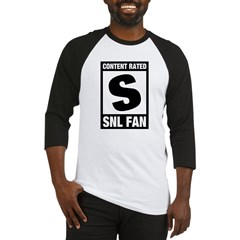 Content Rated S: SNL Fan Baseball Jersey