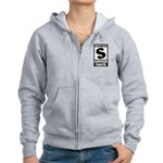 Content Rated S: Survivor Fanatic Women's Zip Hoodie