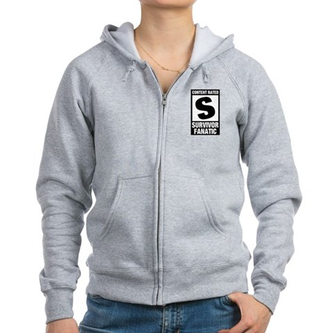 Survivor Fanatic Women's Zip Hoodie
