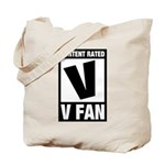 Content Rated V: V Fan Tote Bag