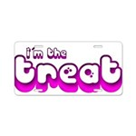 Retro I'm the Treat Aluminum License Plate