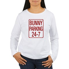 Bunny Parking Women's Long Sleeve T-Shirt
