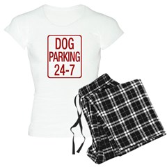 Dog Parking Women's Light Pajamas