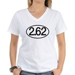 2.62 Women's V-Neck T-Shirt