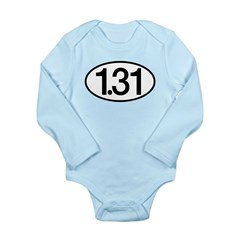 1.31 Long Sleeve Infant Bodysuit