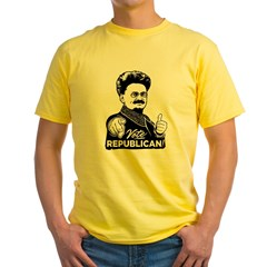 Trotsky Vote Republican Yellow T-Shirt