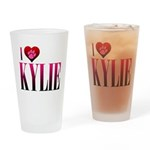 I Heart Kylie Pint Glass