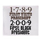 Presidential Firsts Stadium Blanket