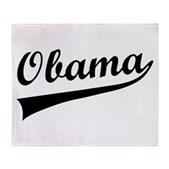 Obama Swish Stadium Blanket