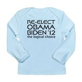 Logical Obama 2012 Long Sleeve Infant T-Shirt