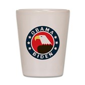 Obama-Biden Eagle Shot Glass