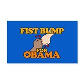 Fist Bump for Obama 22x14 Wall Peel