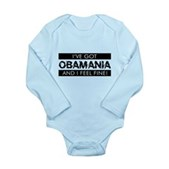 I've Got Obamania! Long Sleeve Infant Bodysuit