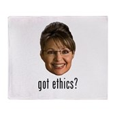 Anti-Palin Got Ethics? Stadium Blanket