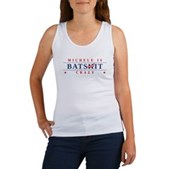 Michele is Batshit Crazy Women's Tank Top