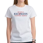 Anti-Bachmann Irony Women's T-Shirt