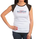 Anti-Bachmann Irony Women's Cap Sleeve T-Shirt