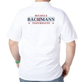 Funny Bachmann Toothpaste Golf Shirt