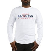 Funny Bachmann Toothpaste Long Sleeve T-Shirt