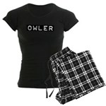 Owler Label Women's Dark Pajamas