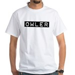 Owler Label White T-Shirt