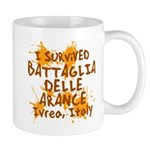 Ivrea Battle Of The Oranges Souvenirs Gifts Tees Mug