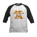 Ivrea Battle Of The Oranges Souvenirs Gifts Tees Kids Baseball Jersey