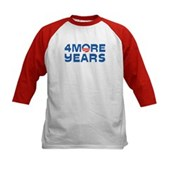 4 More Years Kids Baseball Jersey