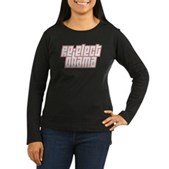 Re-Elect Obama Women's Long Sleeve Dark T-Shirt