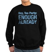Hey, Tea Party Sweatshirt (dark)