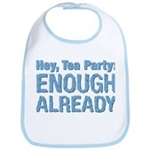 Hey, Tea Party Bib