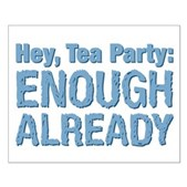 Hey, Tea Party Small Poster