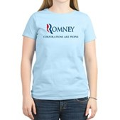 Anti-Romney Corporations Women's Light T-Shirt