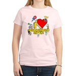 I Heart Schoolhouse Rock! Women's Light T-Shirt