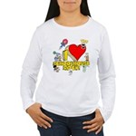 I Heart Schoolhouse Rock! Women's Long Sleeve T-Shirt