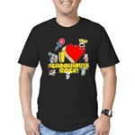 I Heart Schoolhouse Rock! Men's Fitted T-Shirt (dark)