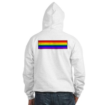 Rainbow Pride Flag Hooded Sweatshirt