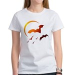 Flying Vampire Bats Women's T-Shirt
