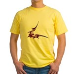 Vampire Bat 1 Yellow T-Shirt