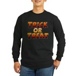 Trick or Treat Long Sleeve Dark T-Shirt