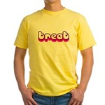 Retro Treat Yellow T-Shirt