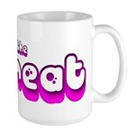 Retro I'm the Treat Large Mug
