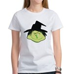 Happy Green Witch Women's T-Shirt