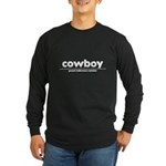 generic cowboy costume Long Sleeve Dark T-Shirt