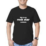 this is my rock star costume Men's Fitted T-Shirt (dark)