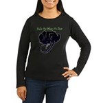 Wake Me When It's Over Women's Long Sleeve Dark T-Shirt