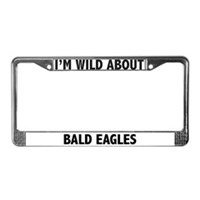 Eagle License Plate Frames