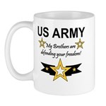 Army Brothers Defending Freed Mug