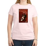Distressed Retro DWTS Poster Women's Light T-Shirt